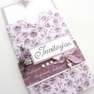 AB invitasjon rosa blomster-2 Large Web view