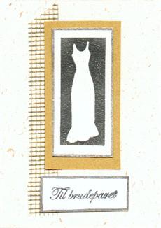 AB Brud Hvit gull solv smal kjole brudeparet mesh