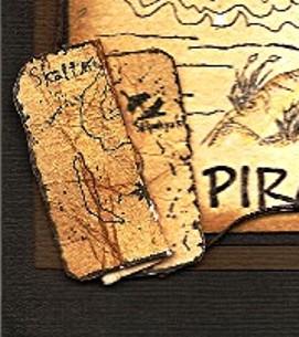 Piratkort til en tøff gutt