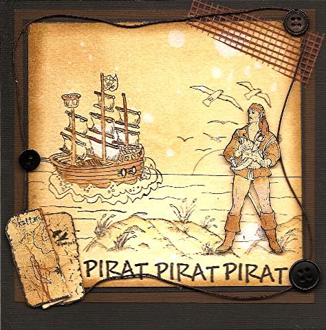 Kort til en pirat