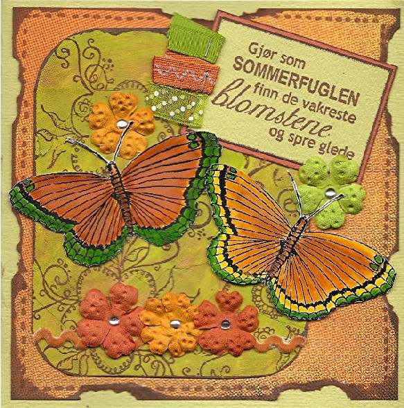 Stempel sommerfugl