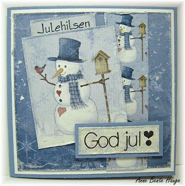 Mini julekort